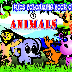 Kids Colouring Books of ANIMALS 1 Welcome to CHITRALEKHA ART BOOK