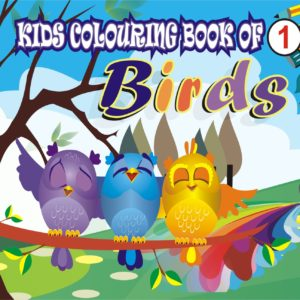 Kids Colouring Books of BIRDS 1 Welcome to CHITRALEKHA ART BOOK
