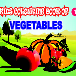 Kids Colouring Books of VESITABLES 1 Welcome to CHITRALEKHA ART BOOK